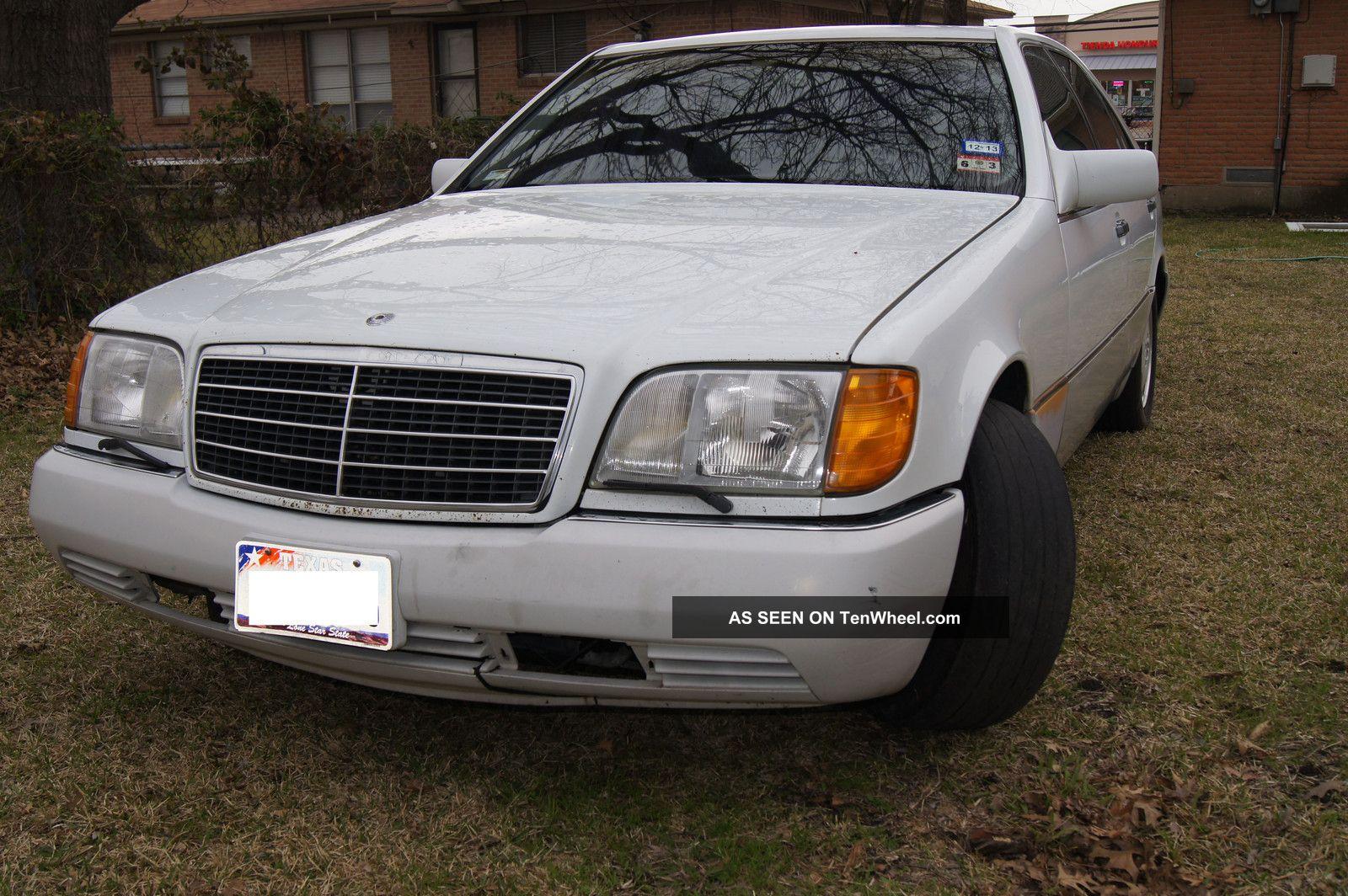 Mercedes benz 1992 400se for Mercedes benz 1992