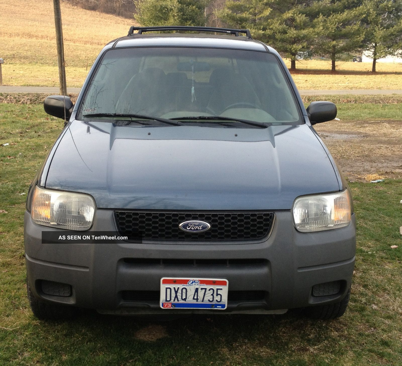 2004 Land Rover Discovery Se Sport Utility 4 Door Green On: 2001 Ford Escape Xls Sport Utility 4