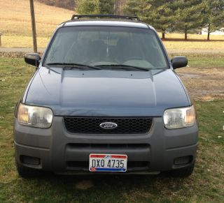2001 Ford Escape Xls Sport Utility 4 - Door 3.  0l photo