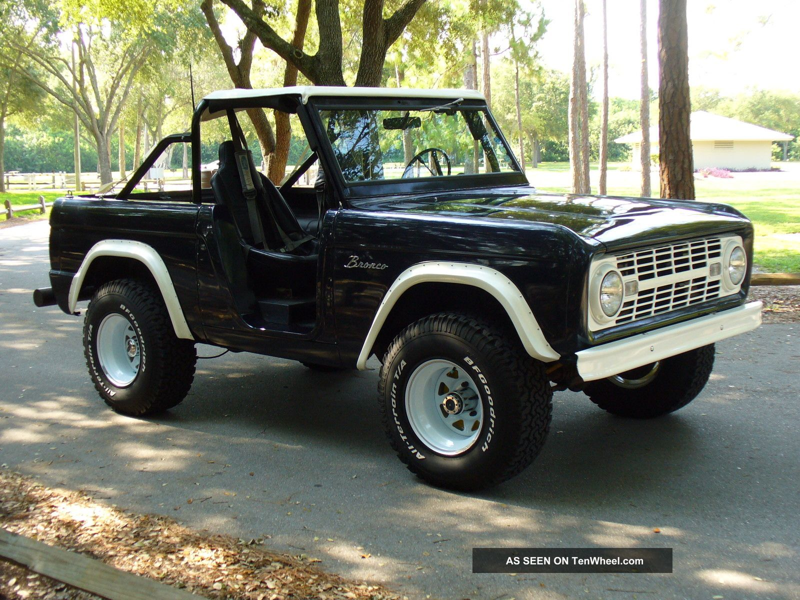 roadster  early bronco ebr title  hand