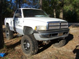 1999 Dodge Ram 1500 4x4 Lifted On Xd 20 ' S And 38 ' S (needs Engine Work) photo