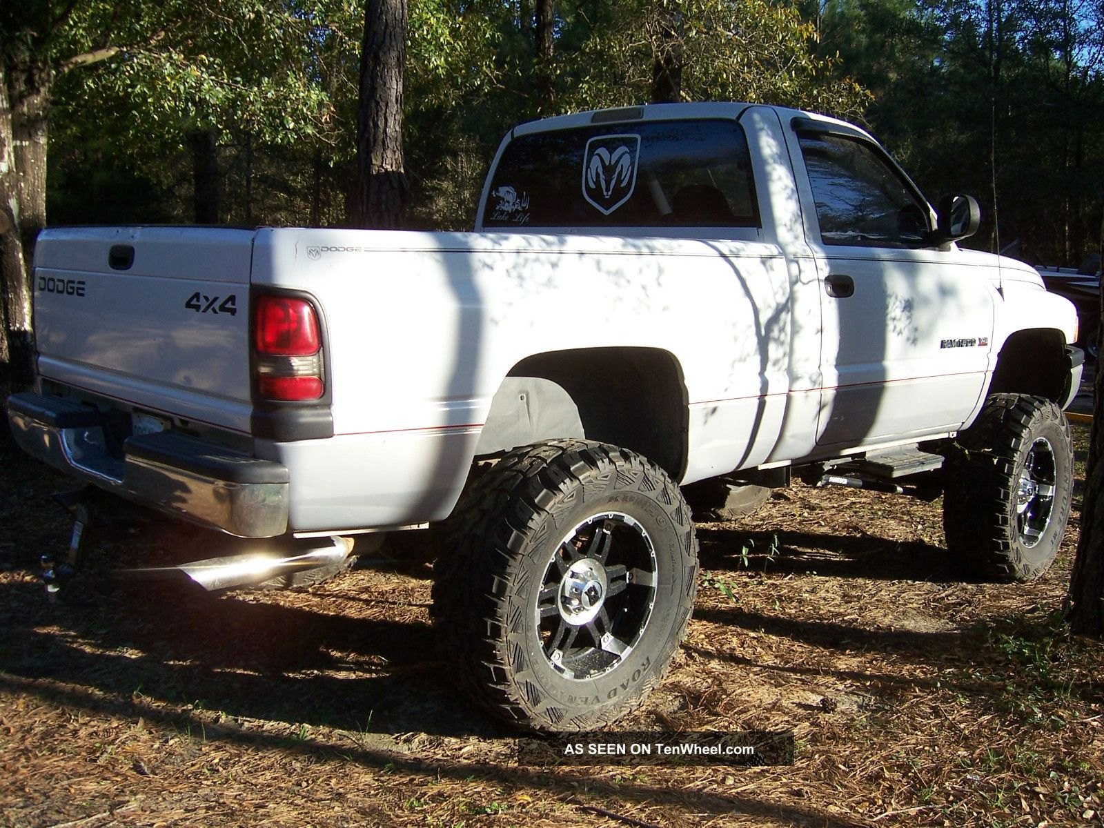 1999 Dodge Ram 1500 4x4 Lifted Xd 20 S And 38 S needs Engine