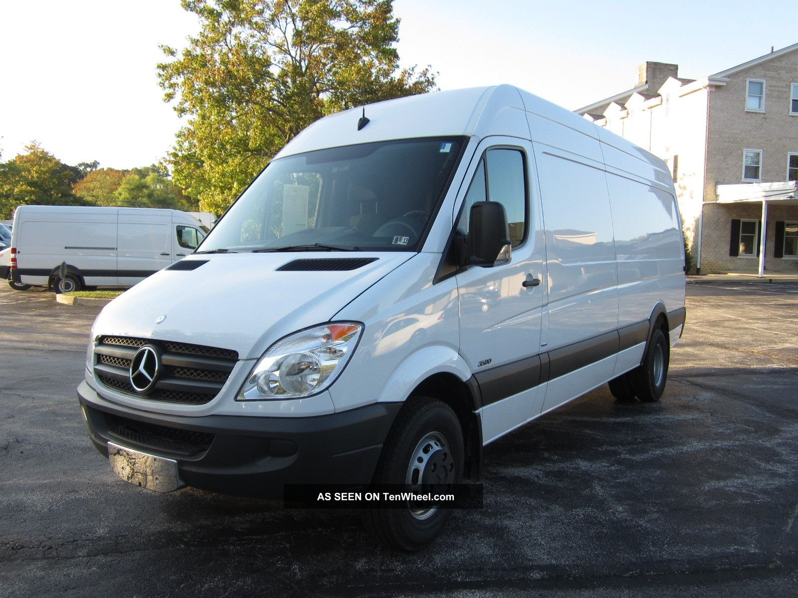 2012 mercedes benz sprinter 3500 heavy duty 170 wb van