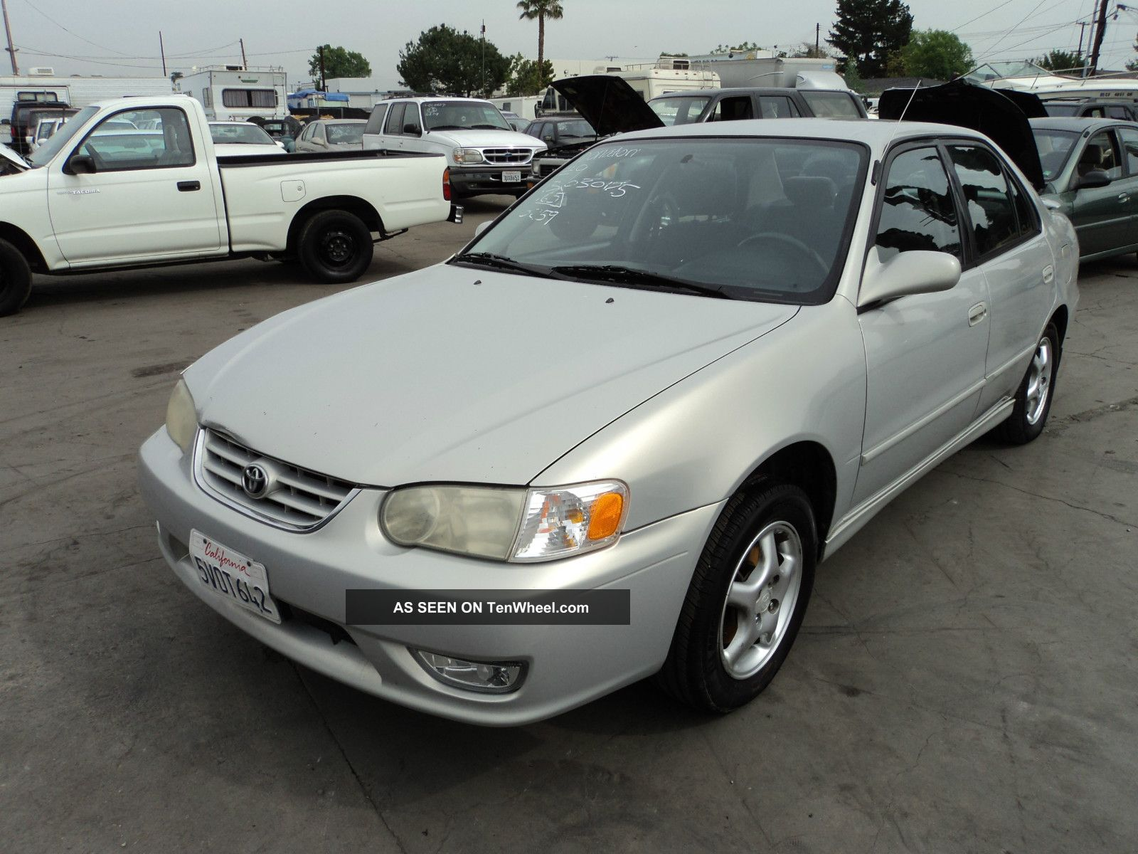 2001 Toyota Corolla S Sedan 4 - Door 1.  8l, Corolla photo