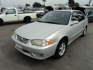2001 Toyota Corolla S Sedan 4 - Door 1.  8l, photo