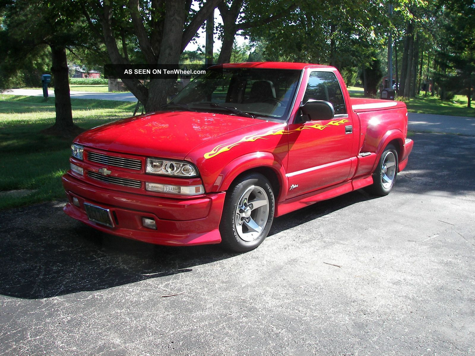Chevy S Extreme Turbo Red Gray Lgw on 2002 chevy s10 extreme