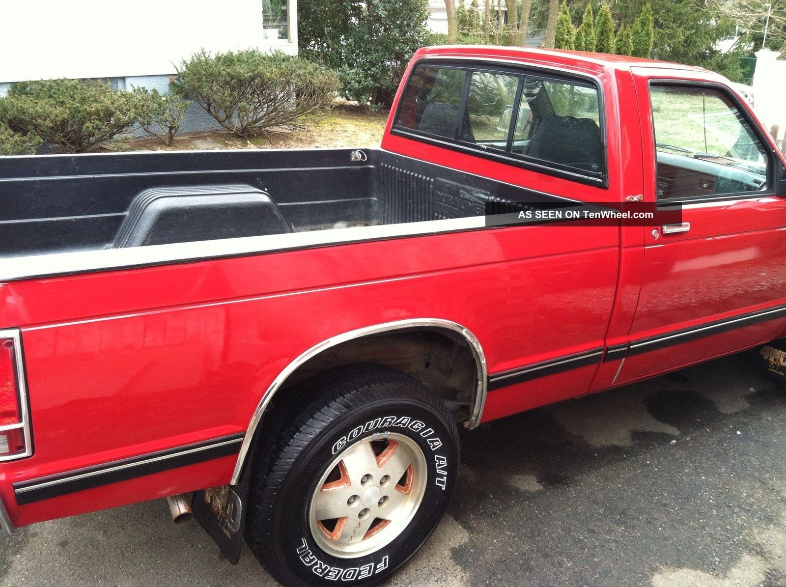 1986 Chevy S10 4x4 V6 5 Speed Barn Find Snow Plow S-10 photo