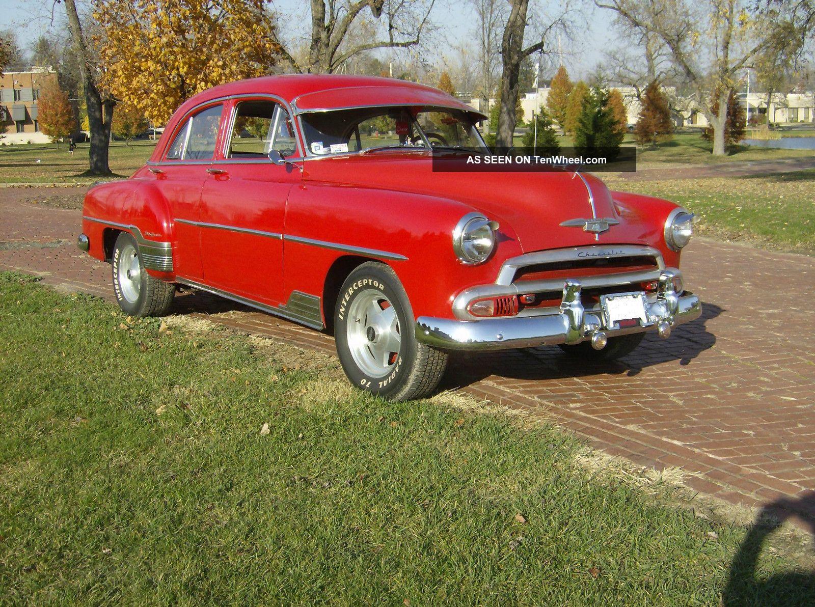 1952 chevrolet chevy styline deluxe 4 door for 1952 chevrolet 4 door sedan