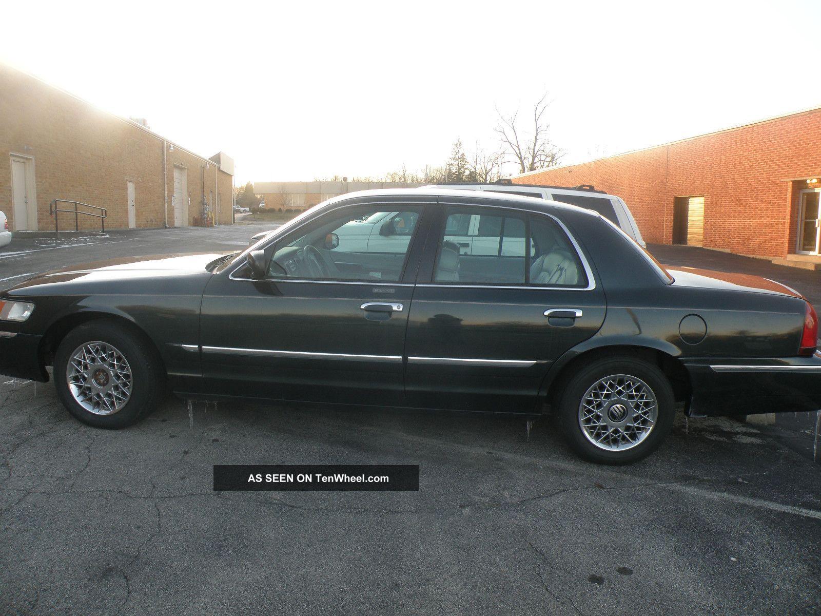 2002 Mercury Grand Marquis Gs Sedan 4 - Door 4.  6l Grand Marquis photo