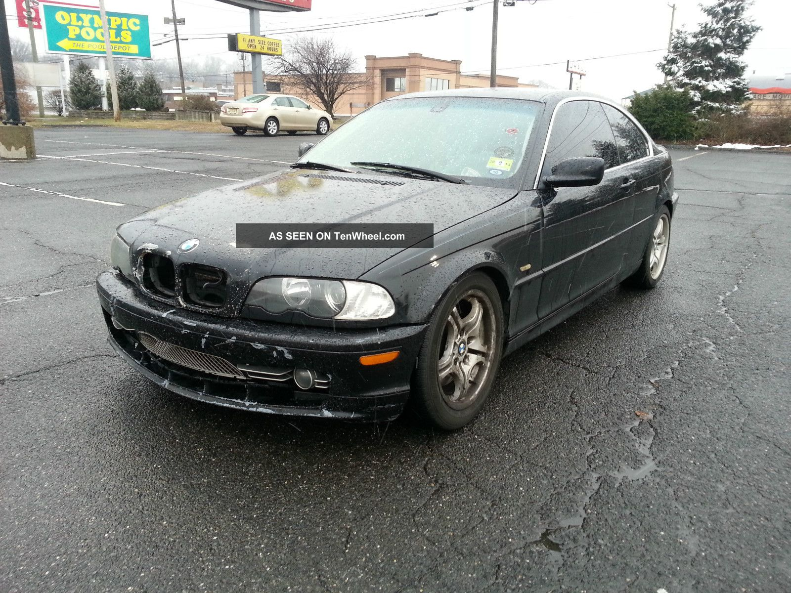 2001 Bmw 330ci Base Coupe 2