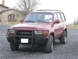 1992 Toyota Land Cruiser Base Sport Utility 4 - Door 4.  0l photo