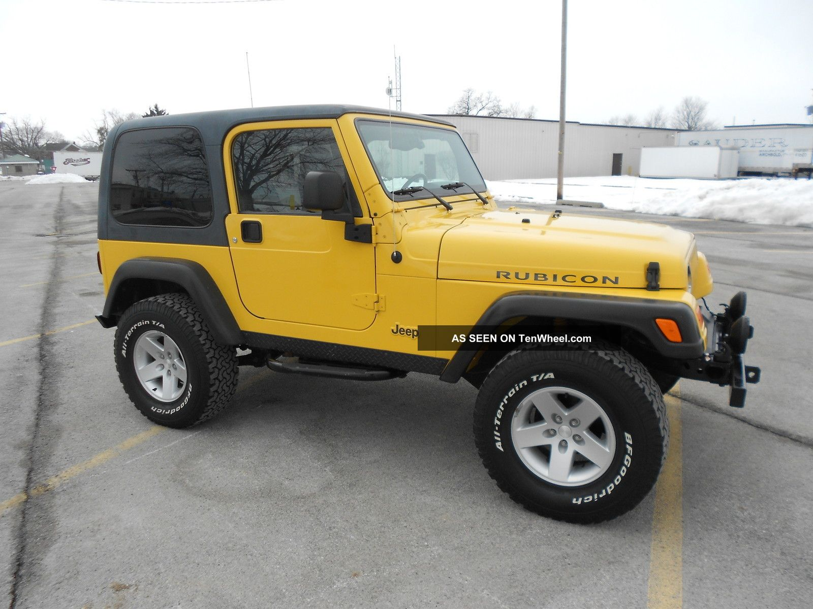 2004 jeep wrangler rubicon 1 owner well maintained. Black Bedroom Furniture Sets. Home Design Ideas