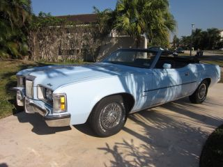 1973 Mercury Cougar Xr7 Convertible 351 Cleveland photo