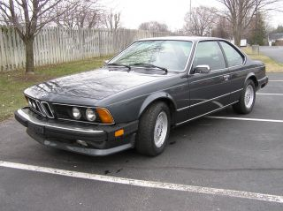 1987 Bmw 635csi Very Looks Great photo
