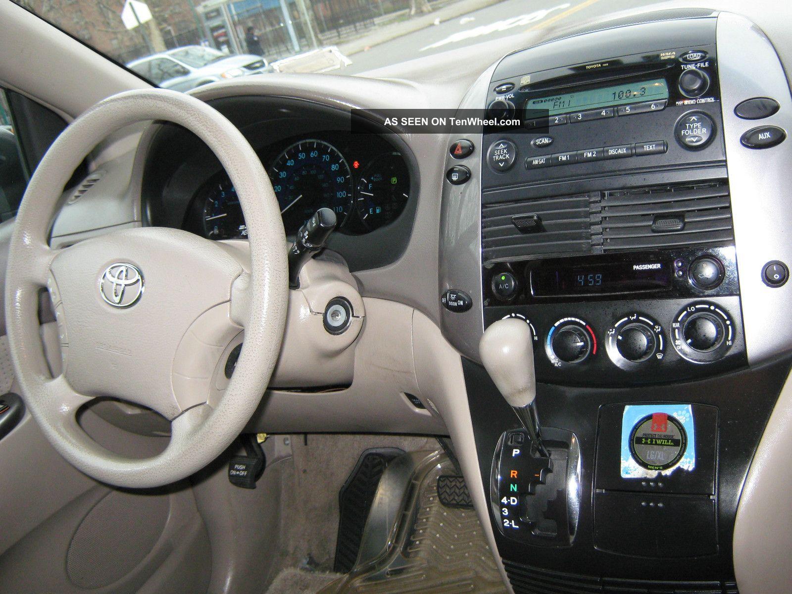 2017 Honda Odyssey Se >> 2006 Toyota Sienna Le Mini Passenger Van 5 - Door 3. 3l