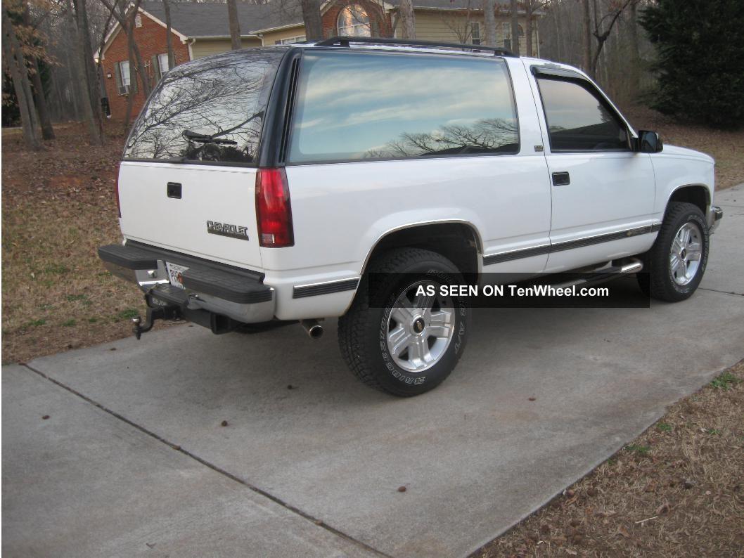 1993 Chevrolet Blazer Silverado Sport Utility 2 - Door 5.  7l Blazer photo