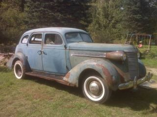 1938 Nash Ambassador Six photo