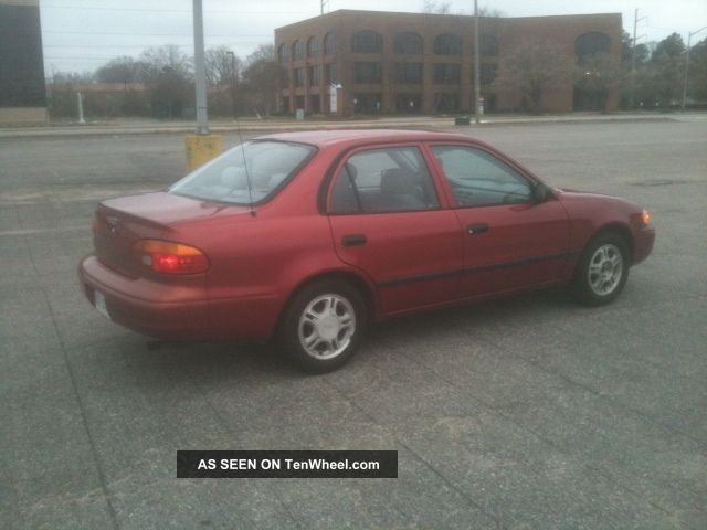 2001 Chevrolet Prizm Base Sedan 4 - Door 1.  8l Other photo