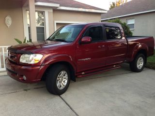 2006 Toyota Tundra Limited Crew Cab Pickup 4 - Door 4.  7l photo