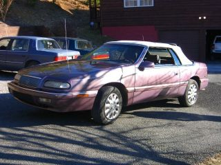 1995 Chrysler Lebaron Lx Convertible 2 - Door 3.  0l photo