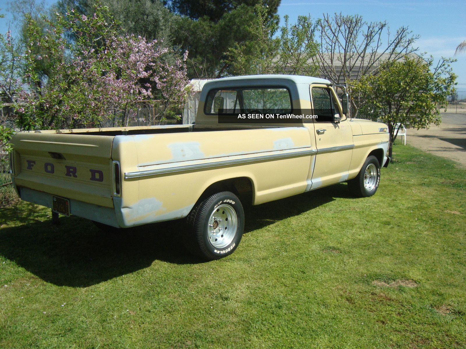 1969 ford pick up. Black Bedroom Furniture Sets. Home Design Ideas