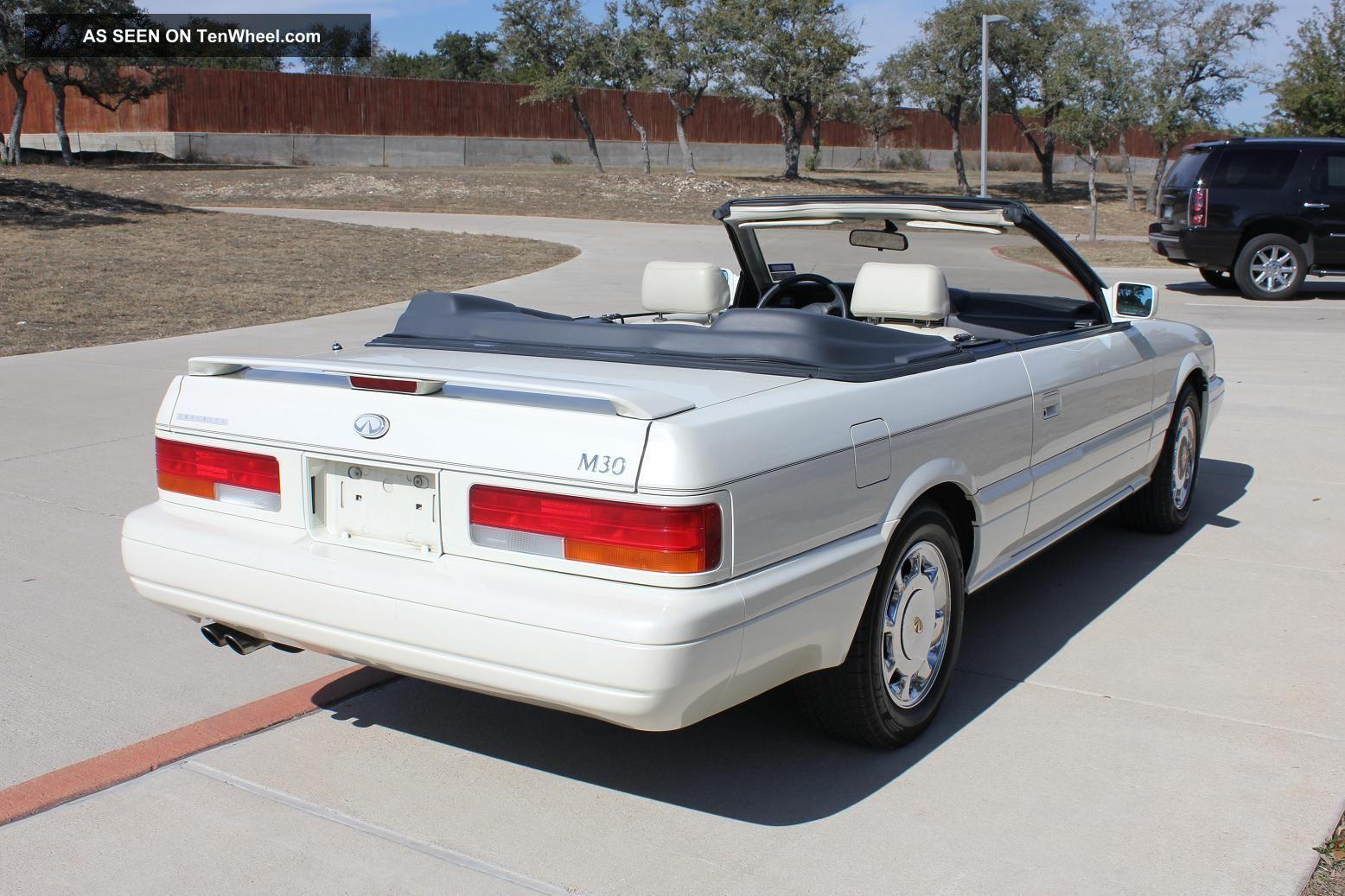 1992 Infiniti M30 Convertible Condition Rare