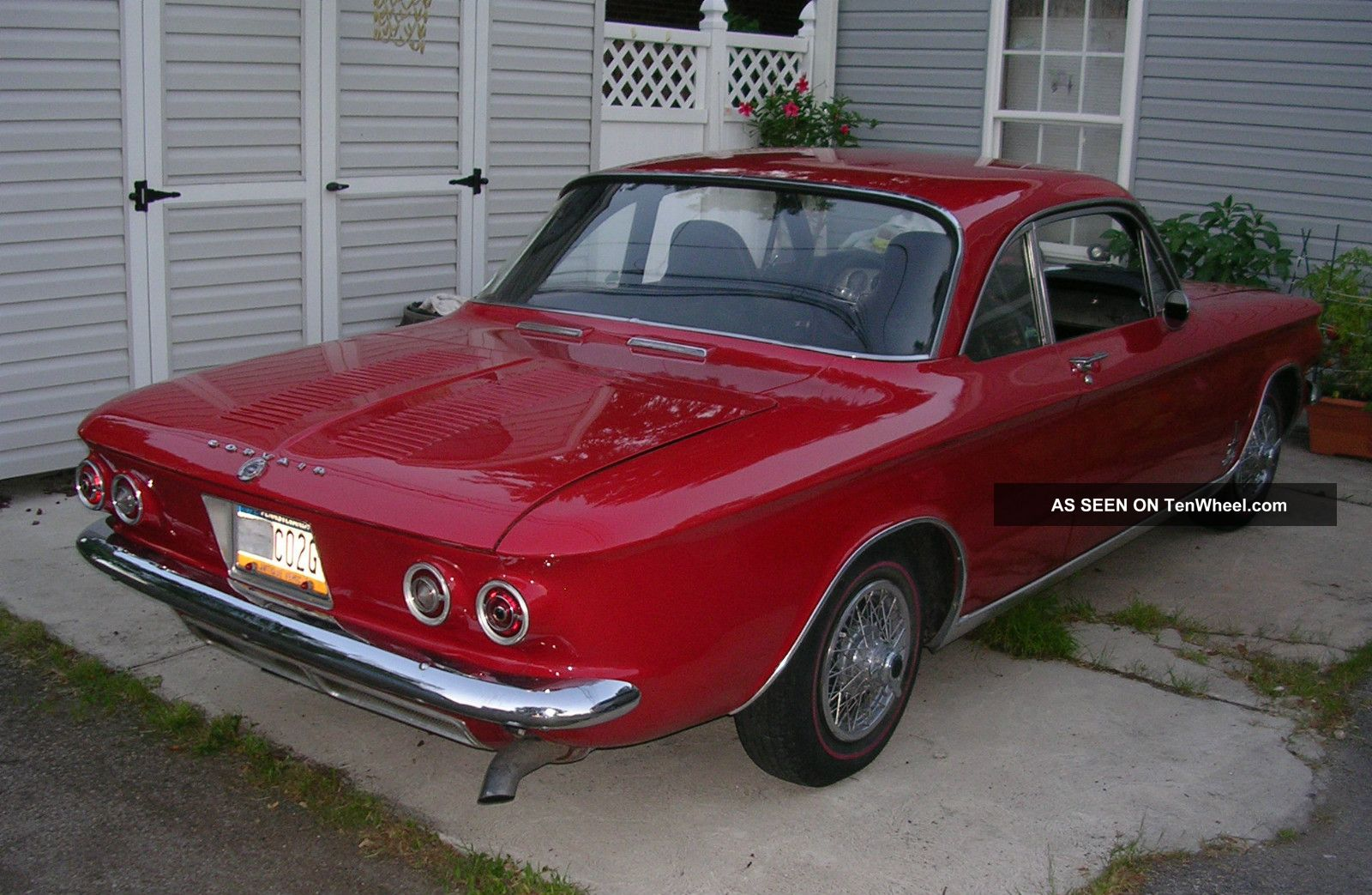 2013 Chevy Malibu Owners Manual >> 1964 Chevy Corvair Monza Spyder
