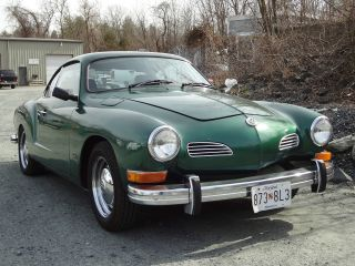 1974 Volkswagen Karmann Ghia Base 1.  6l photo