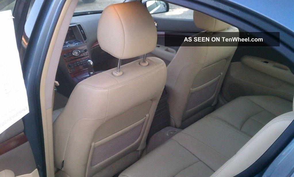 2008 Infiniti G35 X Sedan 4 - Door 3.  5l G photo
