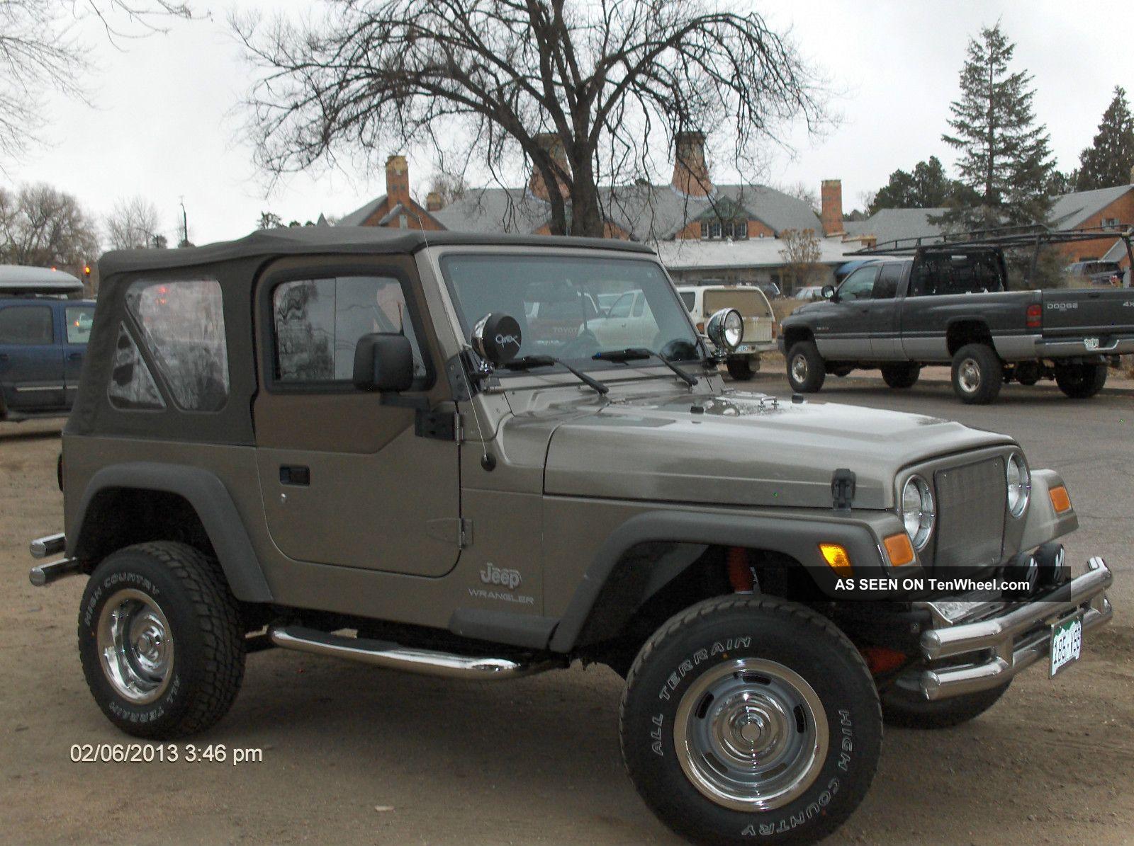 2006 Jeep Wrangler Se Sport Utility 2 - Door 2. 4l