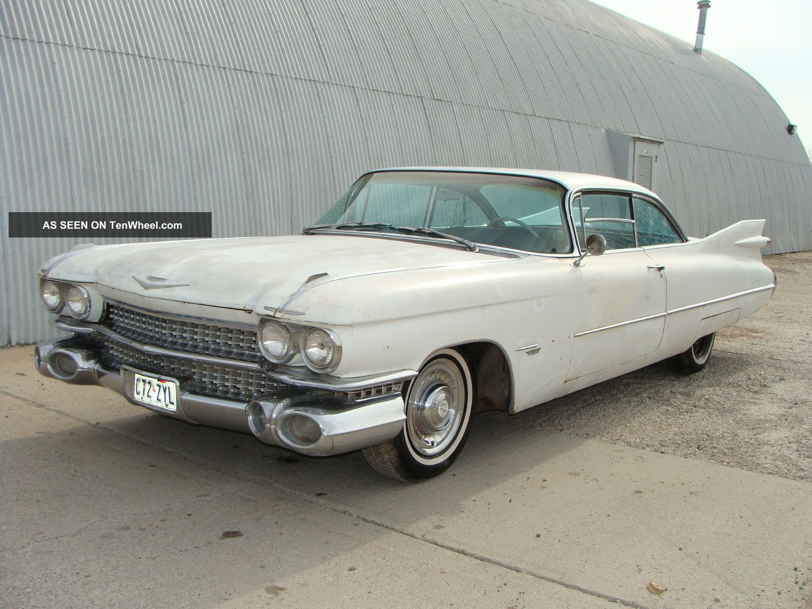 1959 Cadillac Series 62 Coupe Solid Mexico Project In