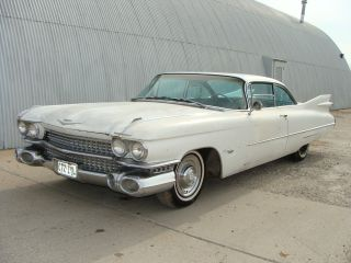 1959 Cadillac Series 62 Coupe.  Solid Mexico Project In Dallas,  Texas photo