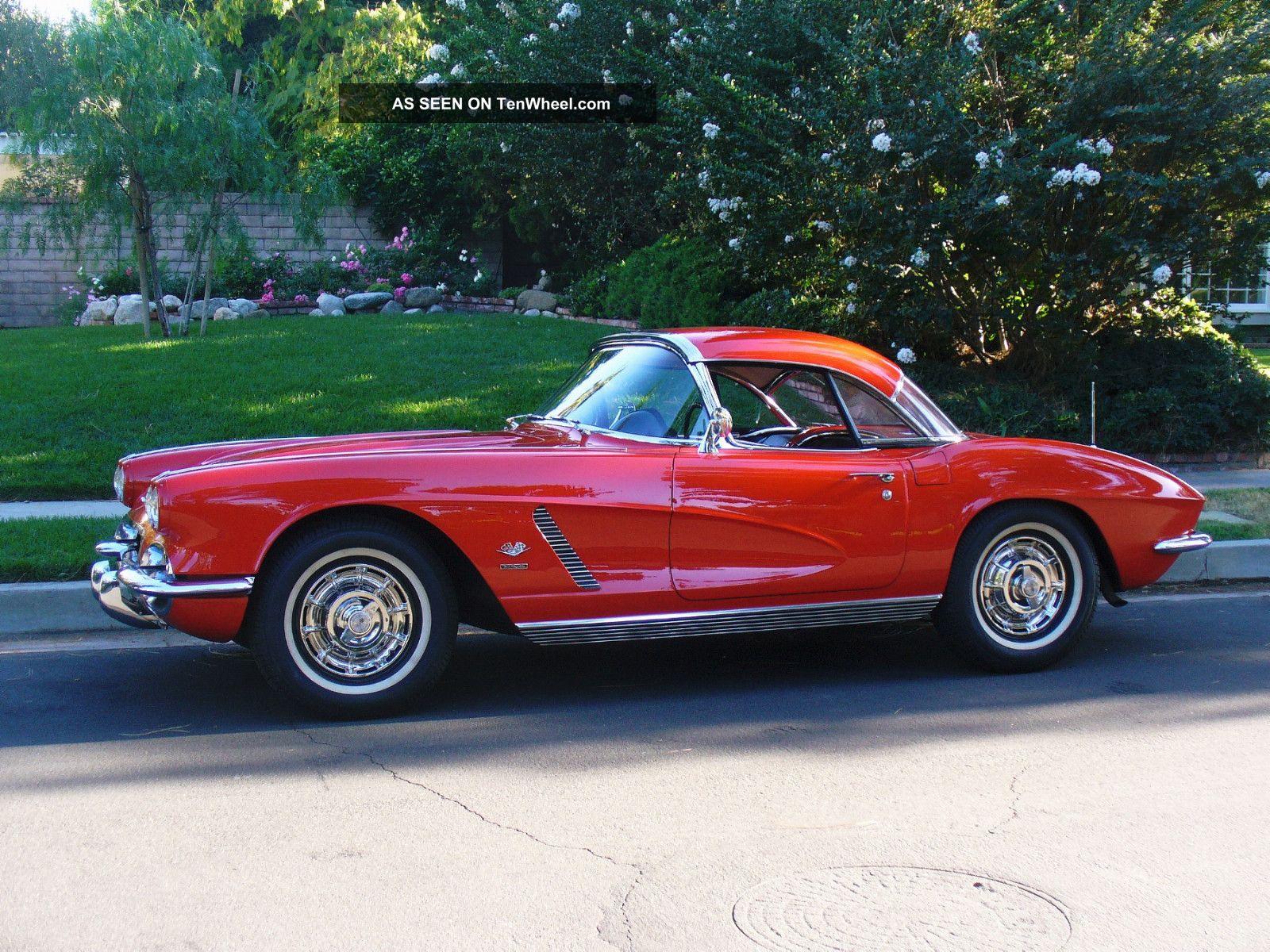 1962 Corvette Fuel Injected 4 Speed 2 Tops