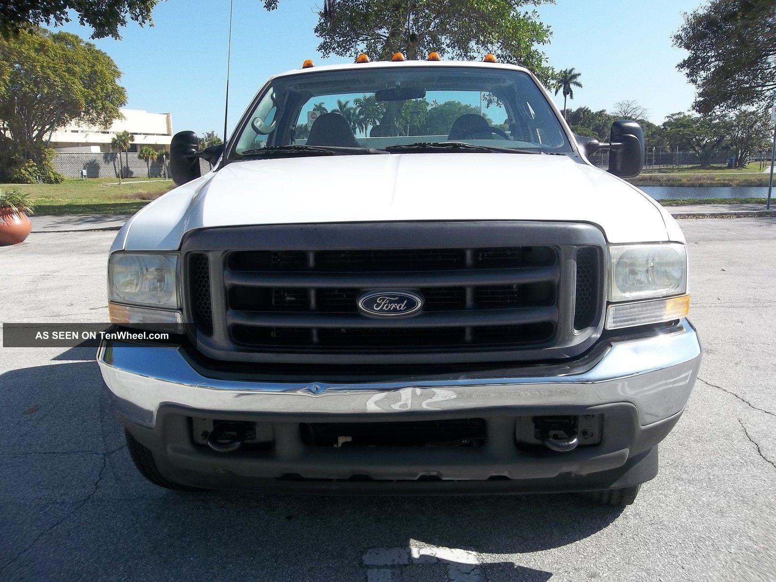 Ford 4x4 Rear : Ford f duty single rear wheel plow utility