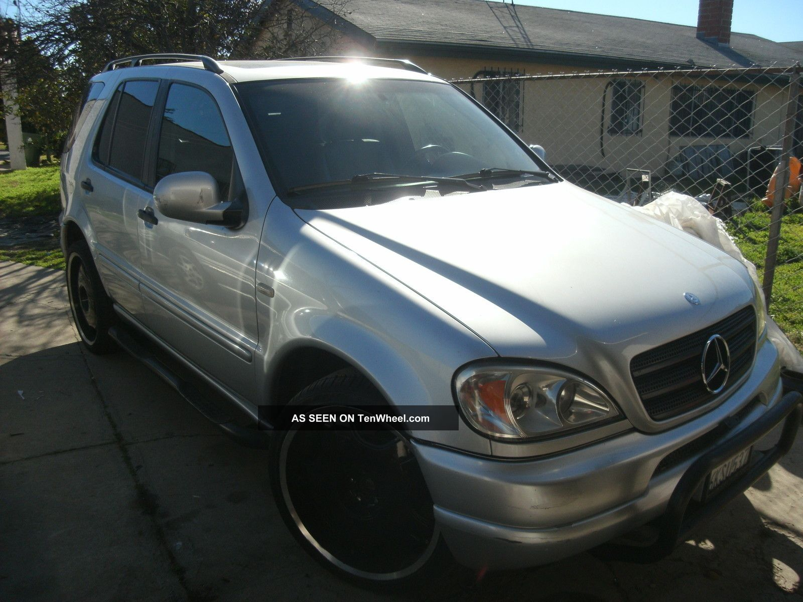 1999 mercedes benz ml430 base sport utility 4 door 4 3l