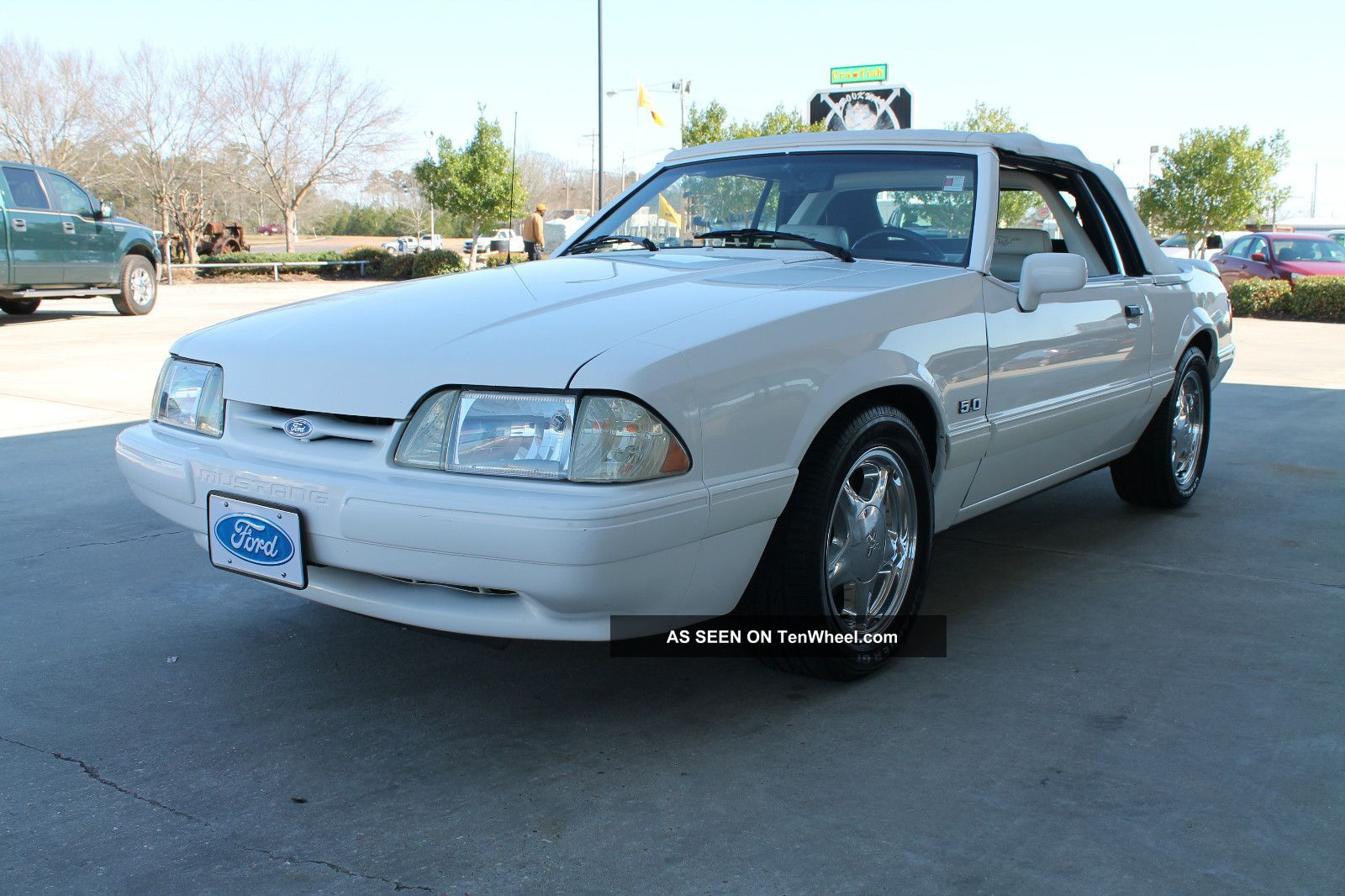 Ford Mustang Lx Convertible Door L Triple White Of Lgw