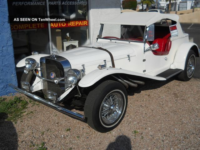 1929 mercedes kit car manufactured by gazelle replica kit makes photo
