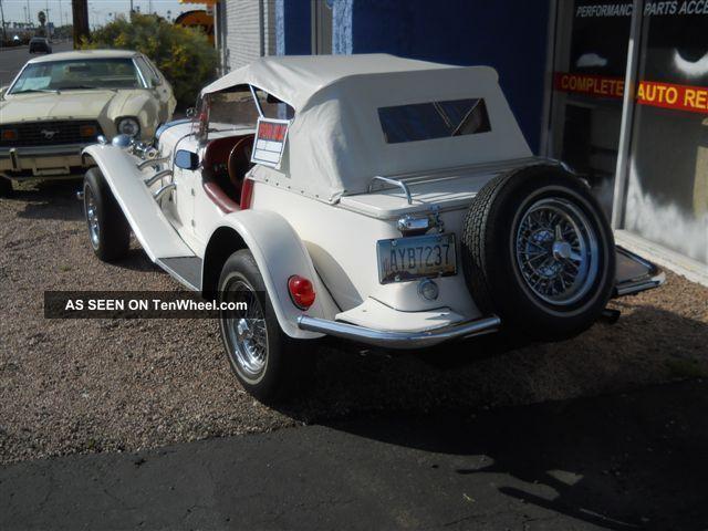 1929 Mercedes Kit Car Manufactured By Gazelle