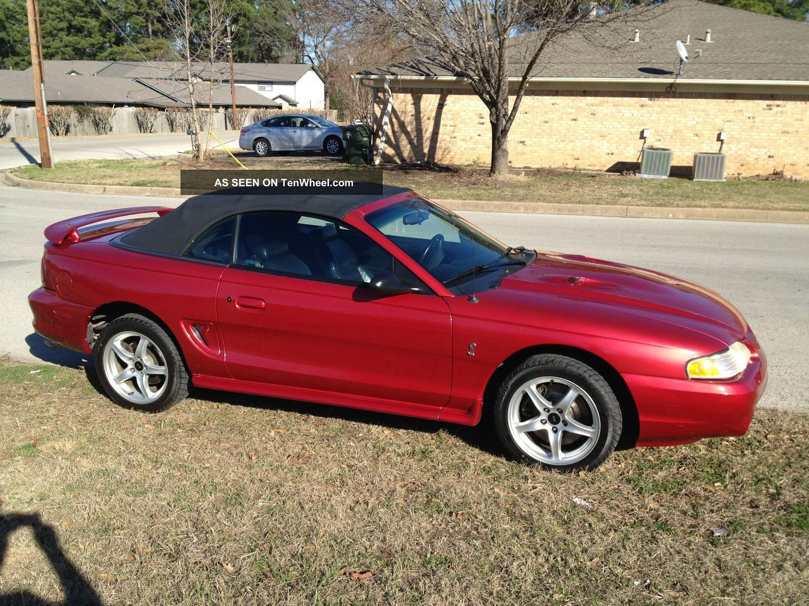 1998 Ford Mustang Svt Cobra Convertible