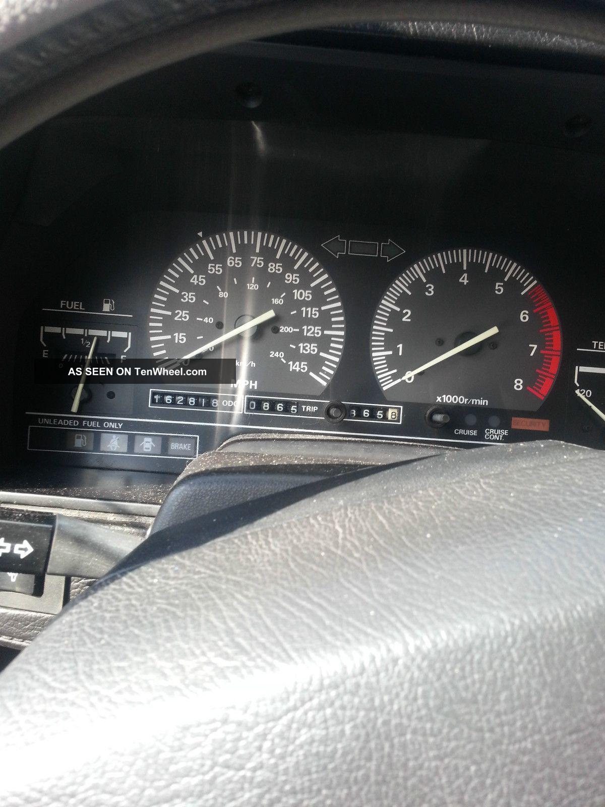 2013 Nissan Sentra Owners Manual >> 1988 Nissan 300zx Se Hatchback 2 - Door 3. 0l