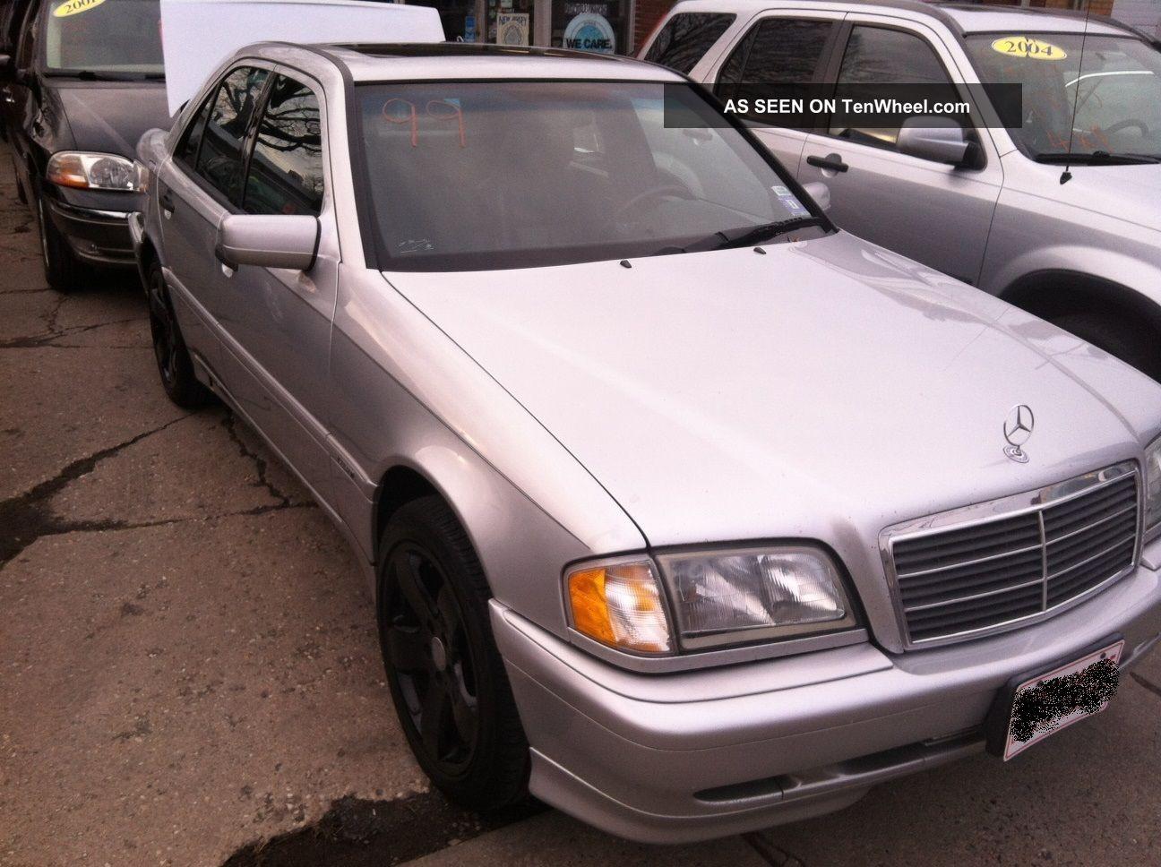 1999 mercedes benz c class c280 no accidents cheap for Mercedes benz cheapest car