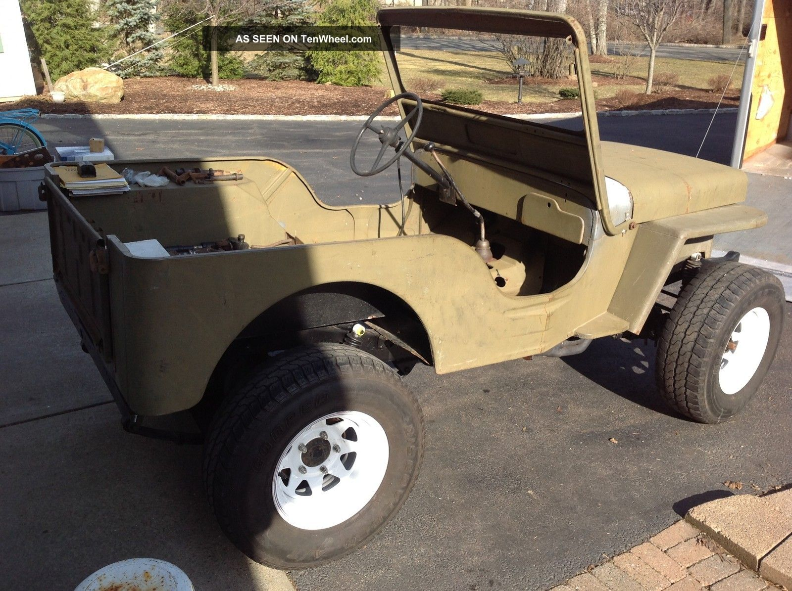 1952 Willys Cj3a - Restomod Style Build Willys photo
