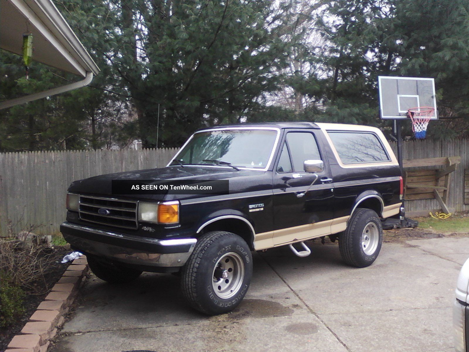 1988 Ford USA Bronco 4gen Wagon full range specs