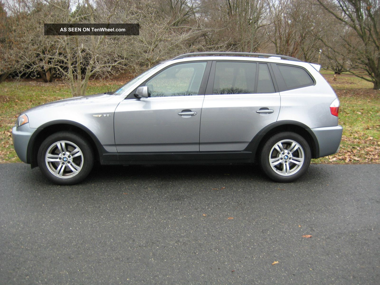 Bmw X3 2006 3.  0i 6 - Speed Manual Transmission And System X3 photo