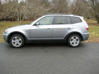 Bmw X3 2006 3.  0i 6 - Speed Manual Transmission And System photo