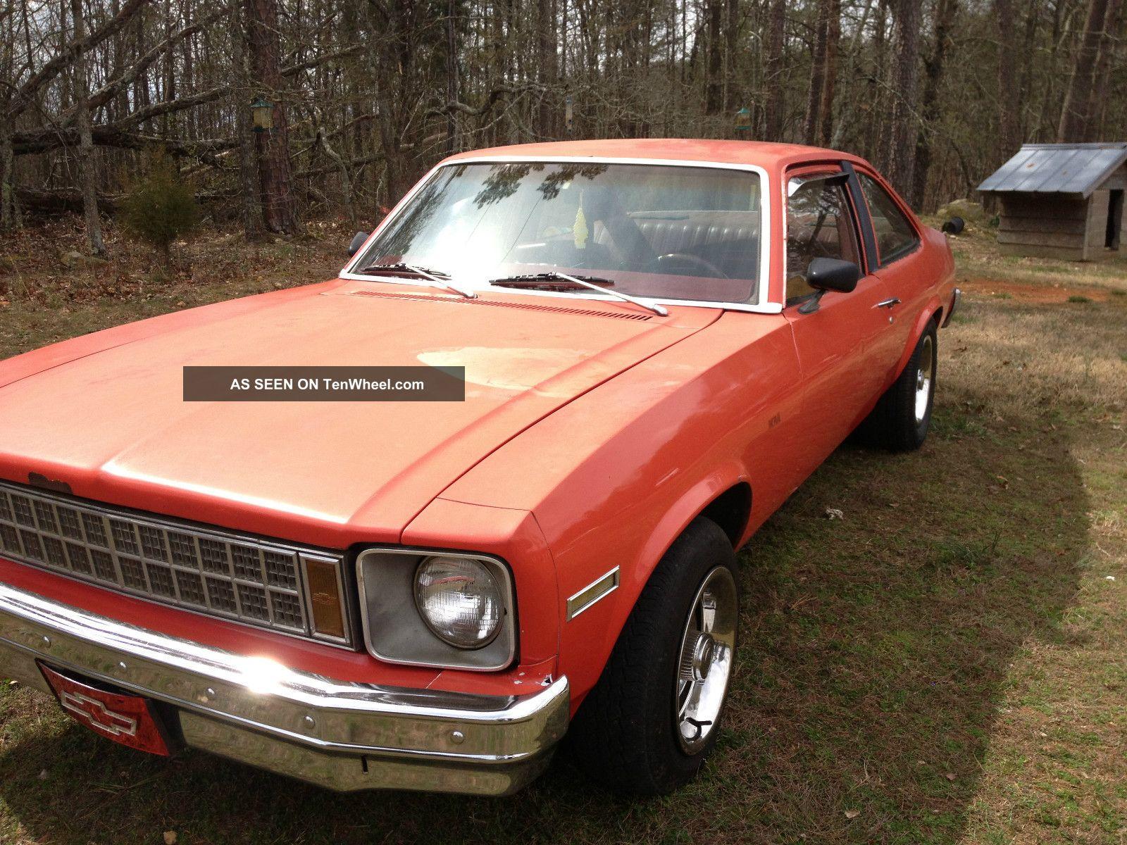 1979 Chevrolet Nova Base Coupe 2 Door 5 0l