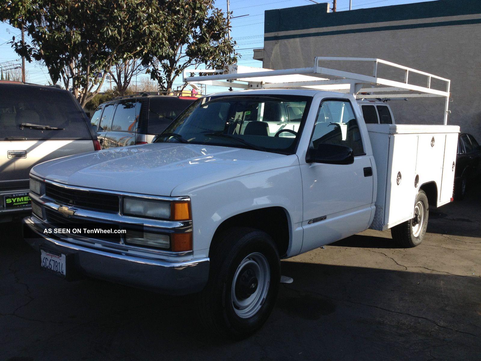 2000 chevrolet 3500 work truck 5 7 liter. Black Bedroom Furniture Sets. Home Design Ideas