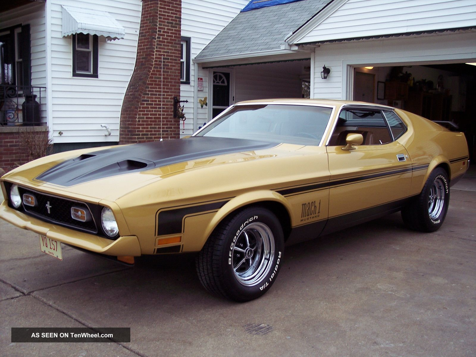 1972 Ford Mustang Mach 1 Q Code 351 Cobra Jet Nut And Bolt