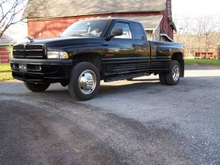1998 Dodge Cummins 12 Valve Diesel Dually 1 Of A Kind photo