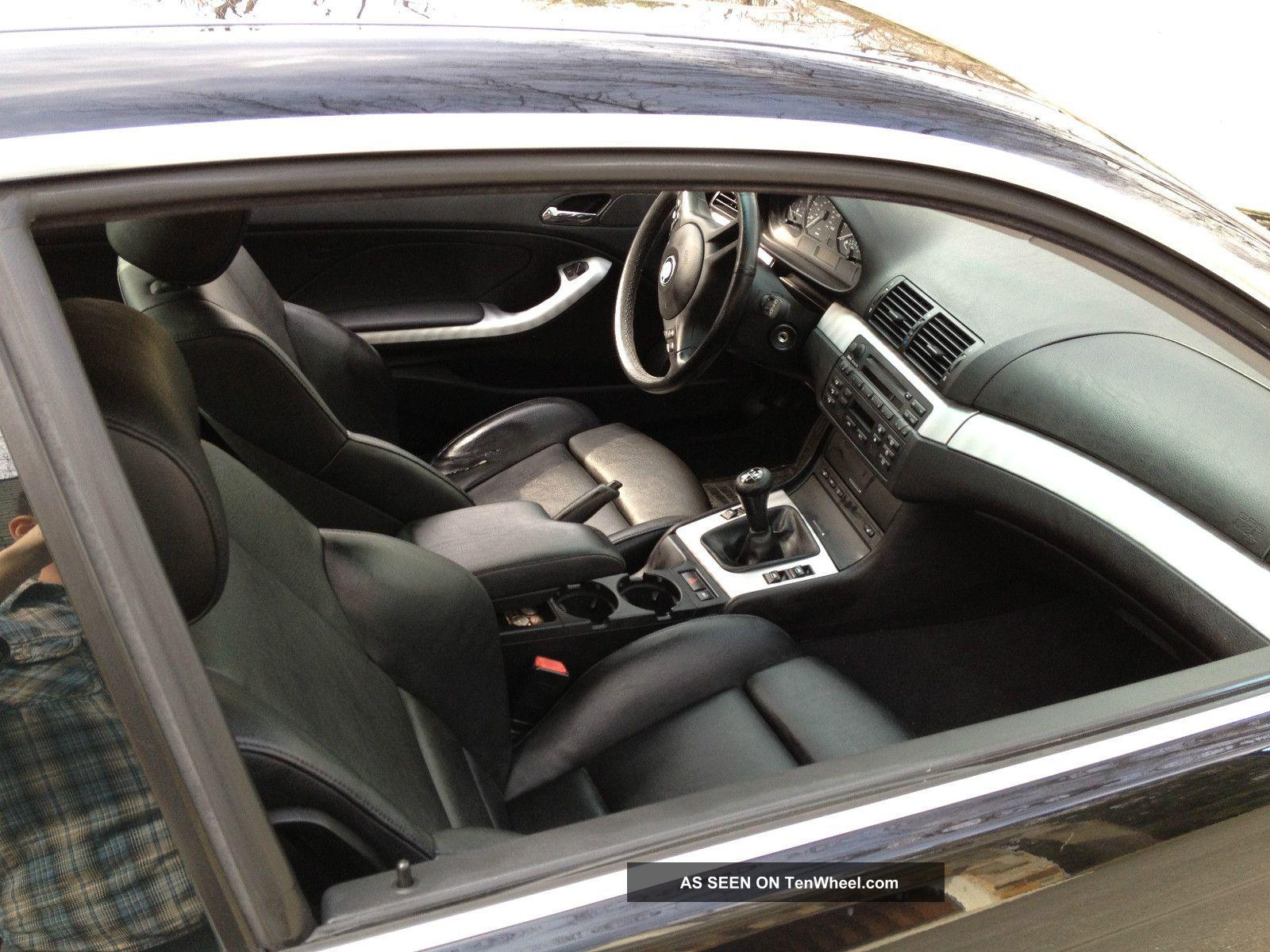 bmw ci coupe sport black manual transmission
